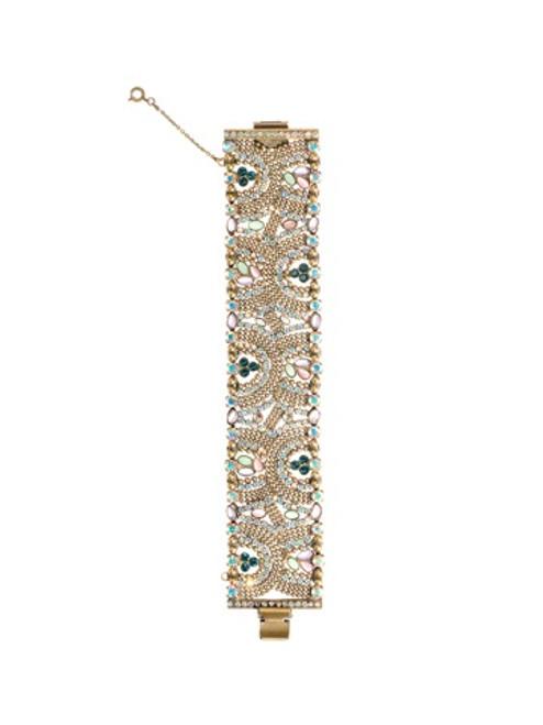 Sorrelli Smitten Crystal Bracelet BBU33AGSMI