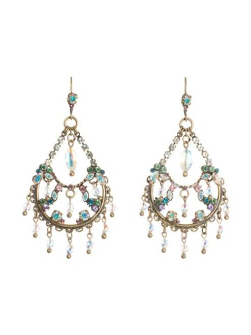 Sorrelli Smitten Crystal Earrings EBU46AGSMI