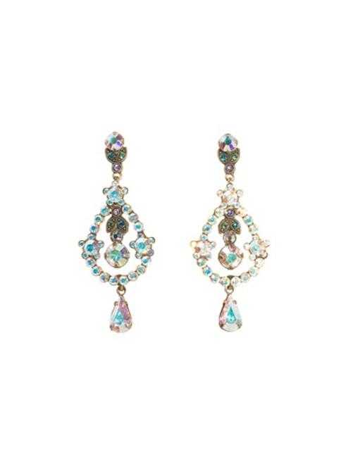 **SPECIAL ORDER**Sorrelli Smitten Crystal  Earrings~EBS68AGSMI