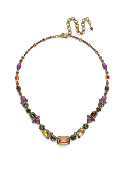 Sorrelli Volcano Crystal Necklace ~NCF9AGVO