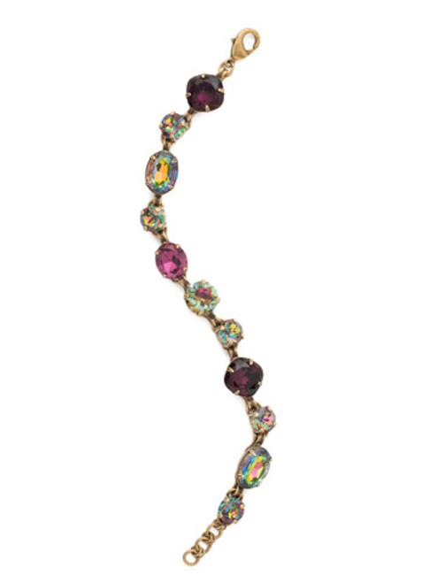 Sorrelli Volcano Superior Sparkle Crystal Bracelet BCP38AGVO