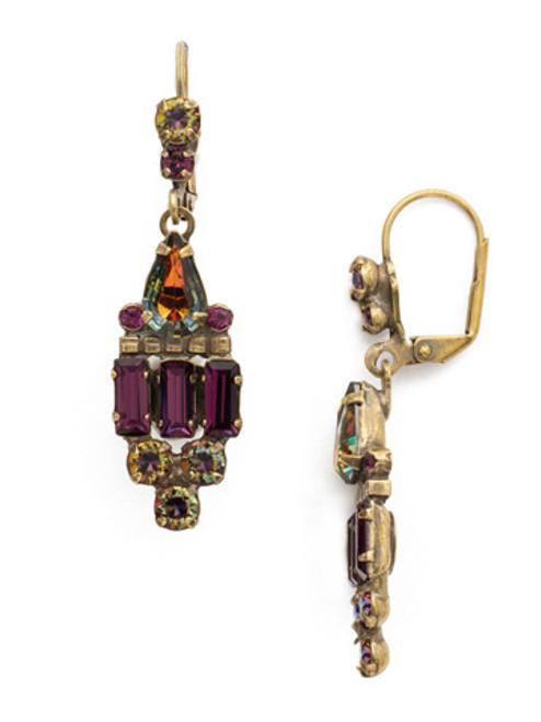 Sorrelli Volcano Crystal Earrings