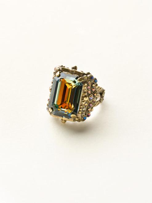 Sorrelli Volcano Crystal Ring