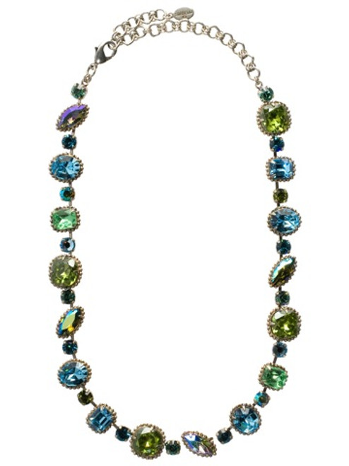 Sorrelli Ocean Crystal Necklace nbx10asoc