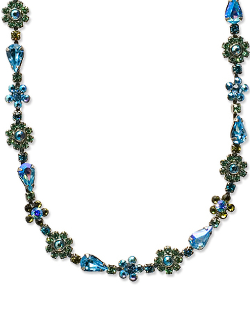 Sorrelli Ocean Crystal Necklace nbp90asoc