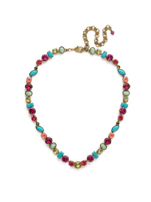 Botanical Brights Crystal Necklace