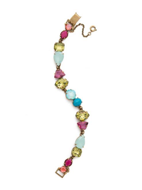 Sorrelli Botanical Brights Crystal Bracelet bdk33agbot