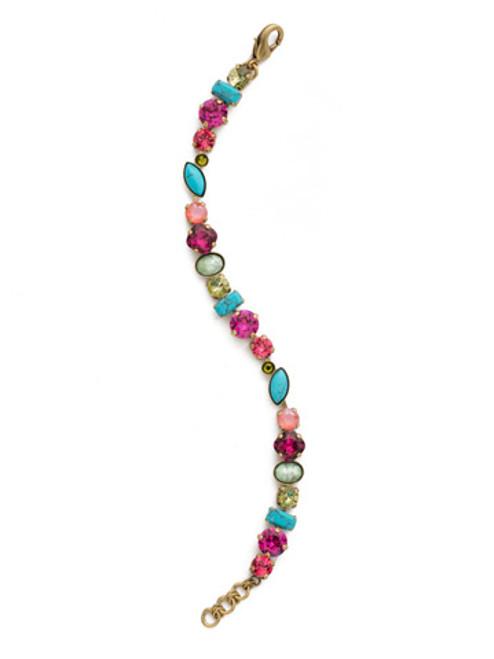 Sorrelli Botanical Brights Crystal Bracelet BDR16AGBOT