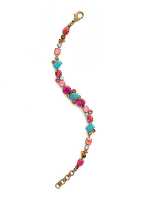 Sorrelli Botanical Brights Crystal Bracelet