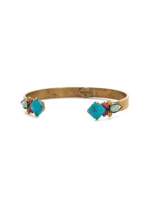 Sorrelli Botanical Brights Crystal Bracelet BDR9AGBOT