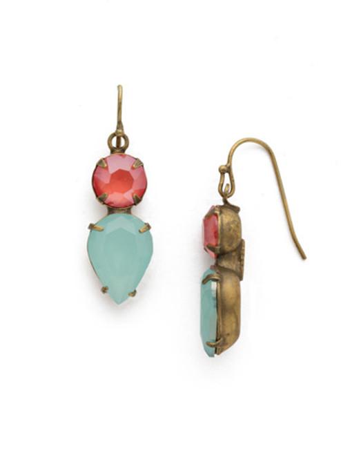 Sorrelli Botanical Brights Crystal Earrings