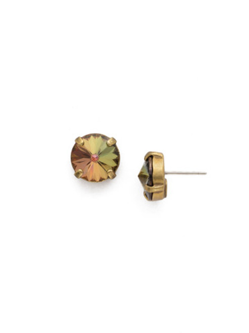 Mahogany Crystal Earrings EDE71AGM