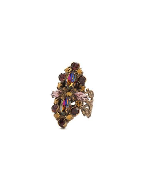 Mahogany Crystal Ring RDQ30AGM