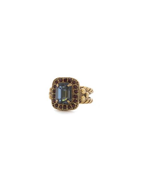 Mahogany Crystal Ring RDQ41AGM