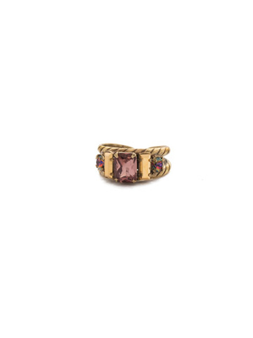 Mahogany Crystal Ring RDG78AGM