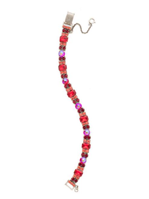 red ruby crystal bracelet bdh14asrru