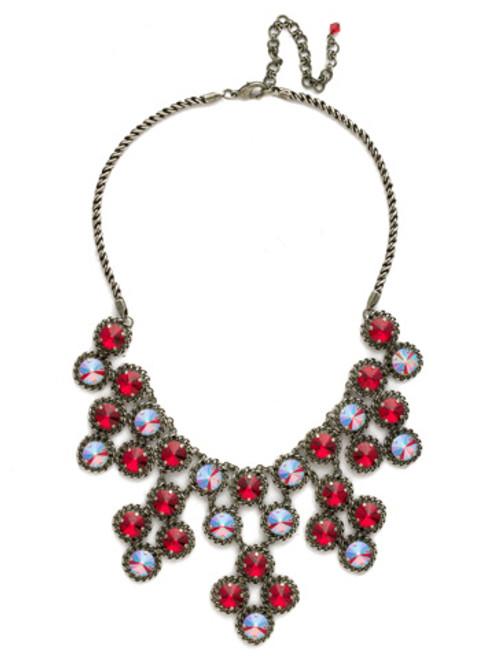 Red Ruby Crystal Necklace NCN2ASRRU