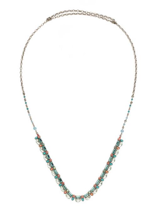 Sorrelli Vivid Horizons Crystal Necklace NDS38ASVH