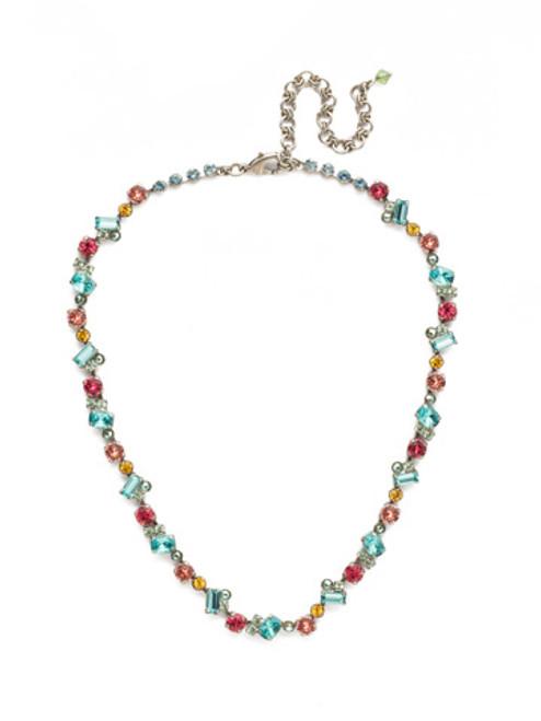 Sorrelli Vivid Horizons Crystal Necklace NDS17ASVH