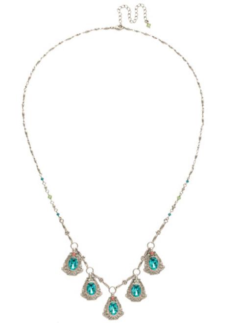 Sorrelli Vivid Horizons Crystal Necklace NDS4ASVH