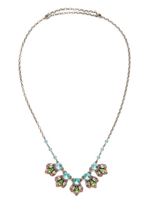 Sorrelli Vivid Horizons Crystal Necklace NDS21ASVH