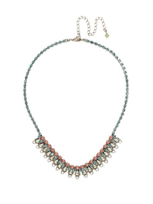 Sorrelli Vivid Horizons Crystal Necklace NDS33ASVH