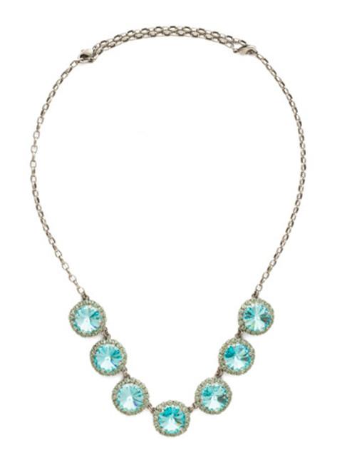 Sorrelli Vivid Horizon Crystal Necklace nds42asvh