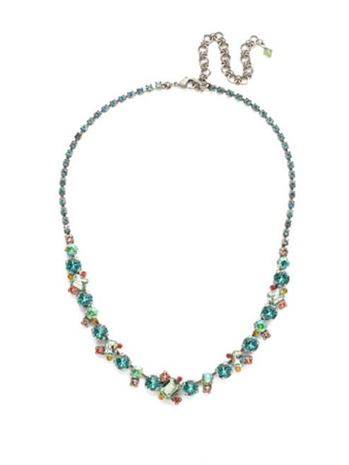 Sorrelli Vivid Horizon Crystal Necklace ndk17asvh