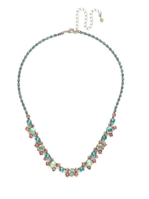 Sorrelli Vivid Horizons Crystal Necklace NDK11ASVH