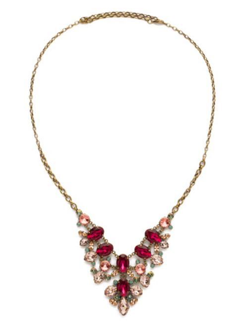 Sorrelli Radiant Sunrise Crystal Necklace edf25aswbr