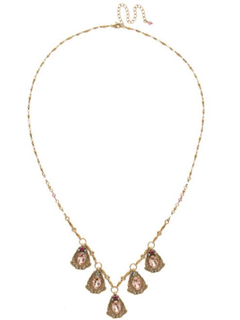 Sorrelli Radiant Sunrise Crystal Necklace nds4agrs