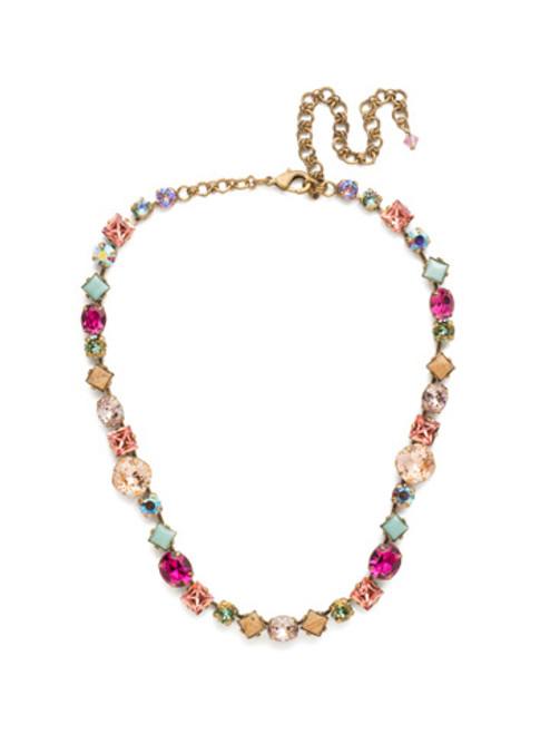 Sorrelli Radiant Sunrise Crystal Necklace ncp36agrs