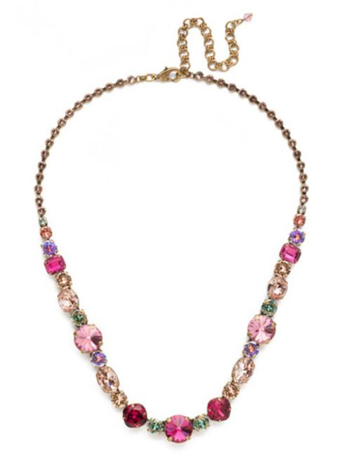 Sorrelli Radiant Sunrise Crystal Necklace ncp38agrs
