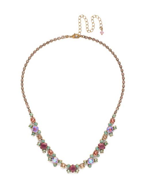 Sorrelli Radiant Sunrise Crystal Necklace ndk11agrs