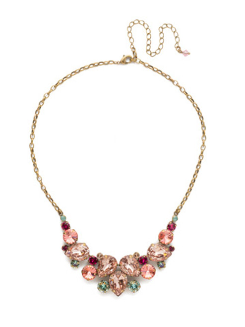 Sorrelli Radiant Sunrise Crystal Necklace ndj14agrs