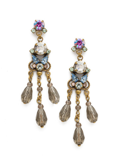 Sorrelli Washed Waterfront Crystal Earrings- EDS20AGWW