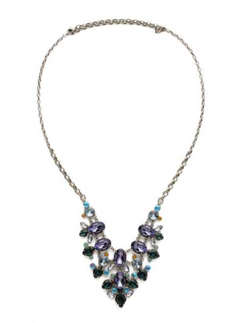 Sorrelli Moonlit Shores Crystal Necklace NDS43ASMLS