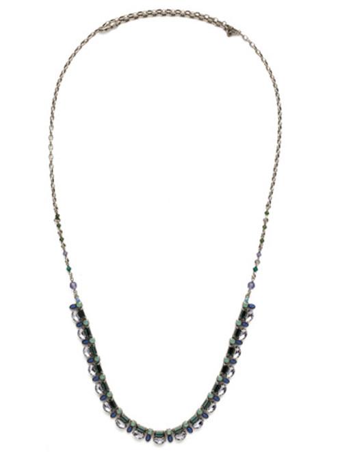 sorrelli moonlit shores crystal necklace nds38asmls