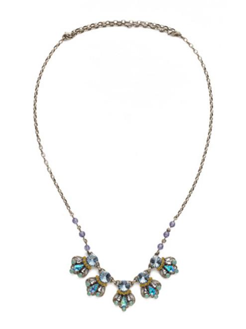 Sorrelli Moonlit Shore Crystal Necklace nds21asmls