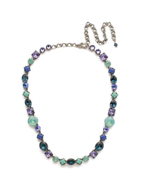 sorrelli moonlit shores crystal necklace ncp36asmls