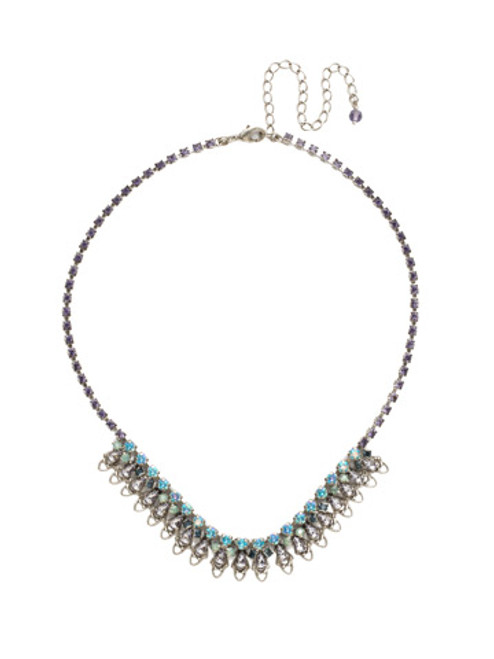 Sorrelli Moonlit Shore Crystal Necklace