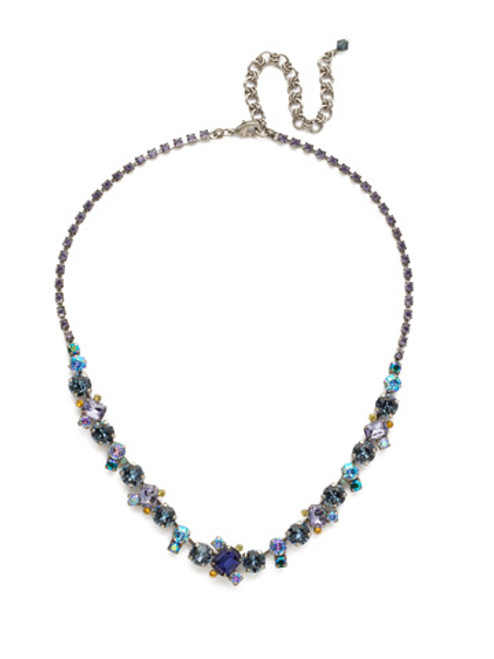 Sorrelli Moonlit Shores Crystal Necklace NDK17ASMLS