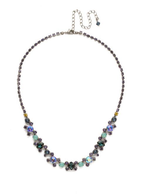 Sorrelli Moonlit Shores Crystal Necklace NDK11ASMLS