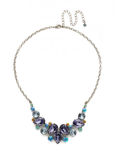 Sorrelli Moonlit Shore Crystal Necklace ndj14asmls