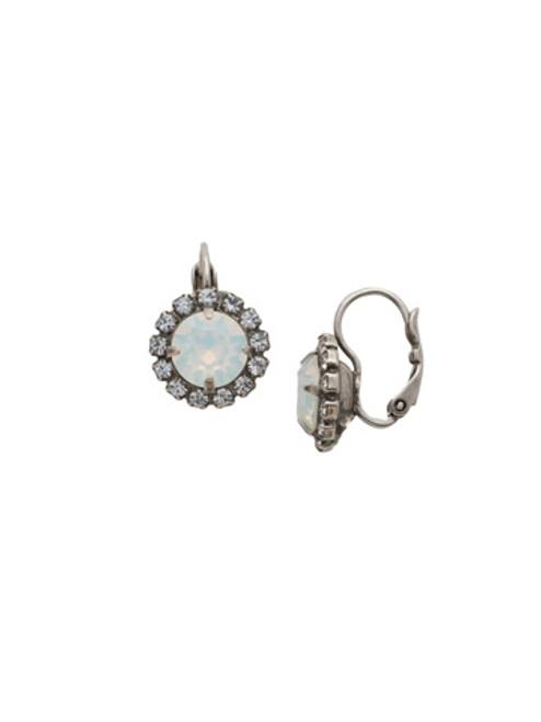 Sorrelli White Bridal Crystal Earrings