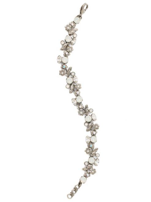 Sorrelli White Bridal Crystal Bracelet BDT19ASWBR