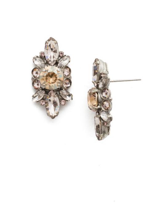 Sorrelli Satin Blush Crystal Earrings