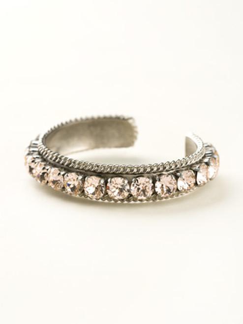 Sorrelli Satin Blush Crystal Bracelet BCN1ASSBL
