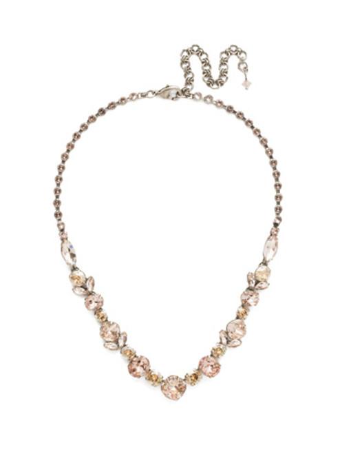Blush Crystal Necklace