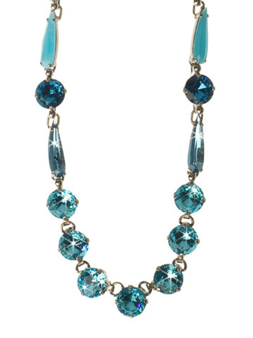 EMERALD COAST CRYSTAL NECKLACE BY Sorrelli NCQ20ASECO